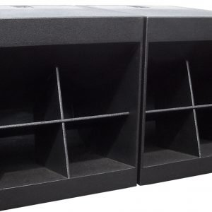 "WH1 Double 18"" Folded Horn Passive Subwoofer"