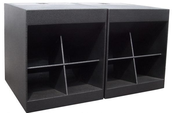 """WH1 Double 18"""" Folded Horn Passive Subwoofer"""